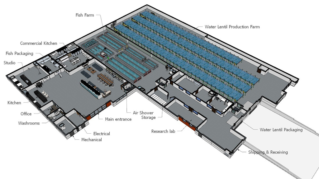 High-tech aquaponics facility planned for Surrey