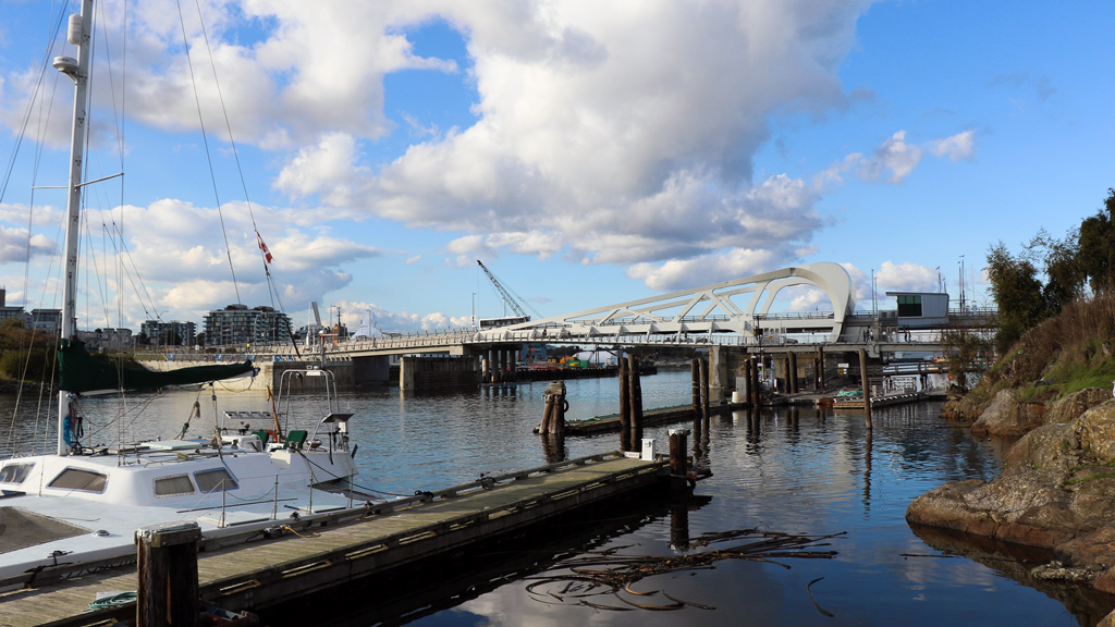 First budgeted at $40 million, the 46-metre-long, three-lane Johnson Street bridge in Victoria has cost over $105 million to date and instead of being finished in September 2015, the bascule bridge opened in March 2018.
