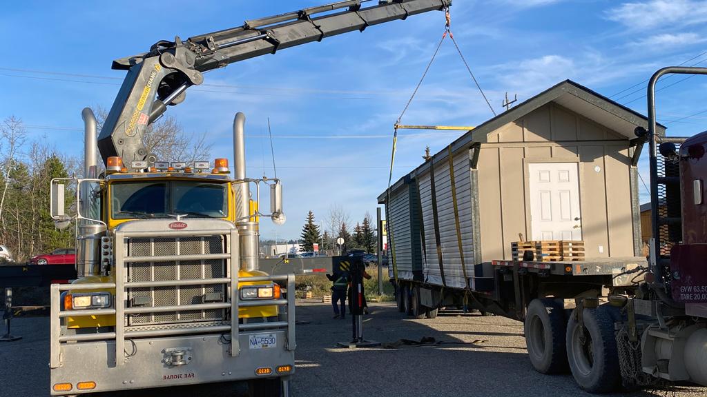 B.C. construction training program builds bunkhouses for Scouts