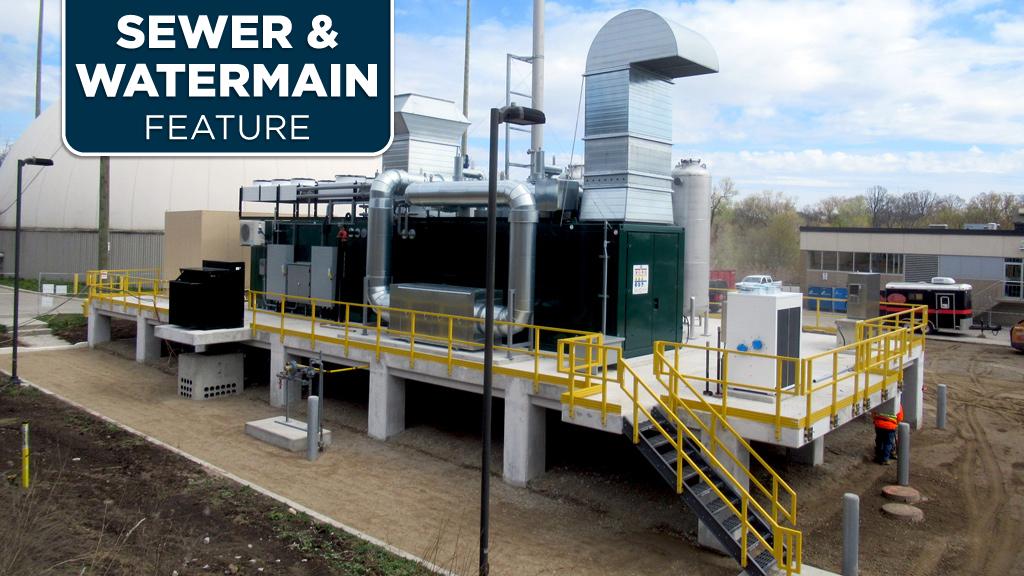 Waterloo Region wastewater plants turn to cogeneration power