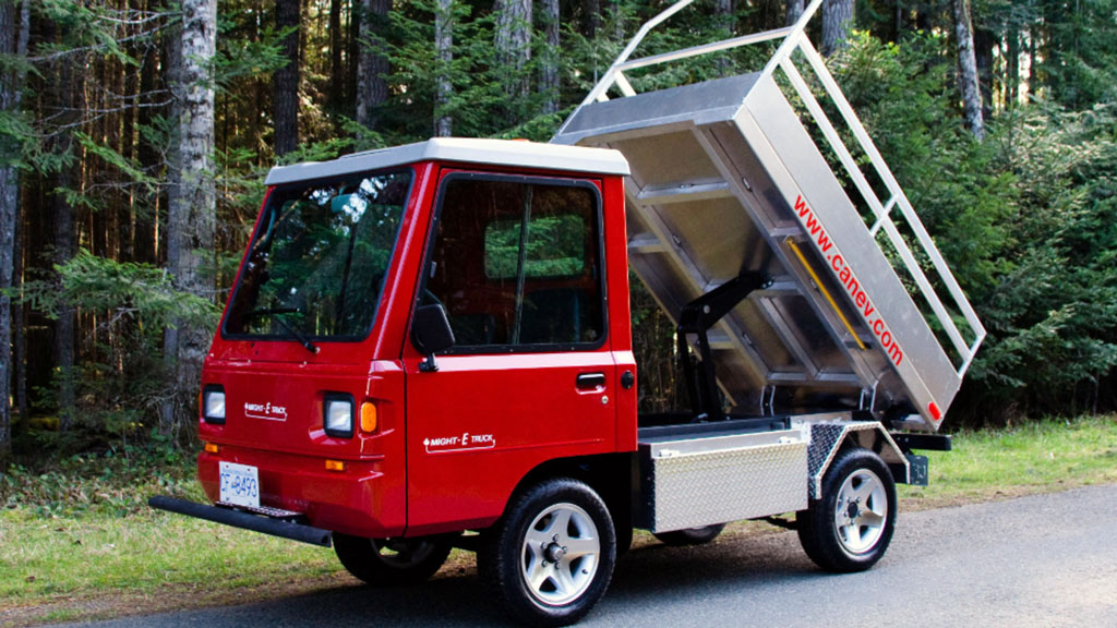 B.C. funds electric work truck project