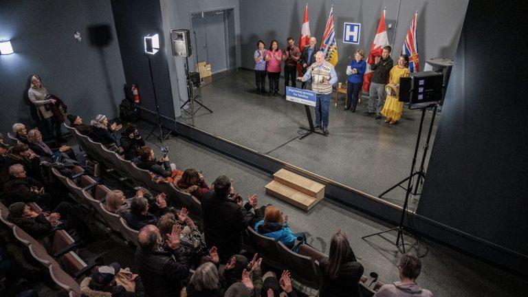 Premier John Horgan announces a new, state-of-the-art Stuart Lake Hospital. The province recently chose Graham Design Builders LP to design the $116 million project.