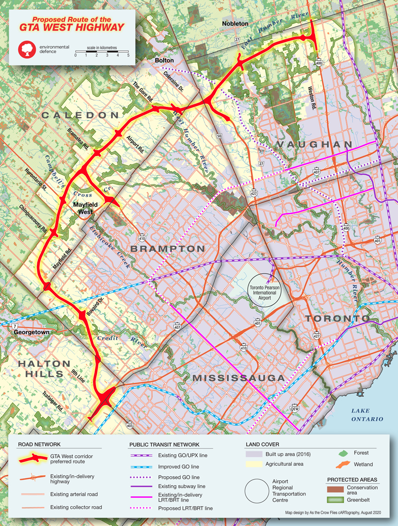 "A number of environmental groups and municipalities have joined the growing chorus objecting to the thoroughfare, known as GTA West Highway 413, because of the ""disastrous"" impacts it would have on habitat. Municipalities such as Orangeville, Halton Hills and Mississauga have formally objected to the proposed corridor."