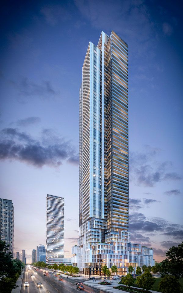 M4, the fourth tower of the M City community, will be one of Canada's most technologically advanced buildings say its developers.