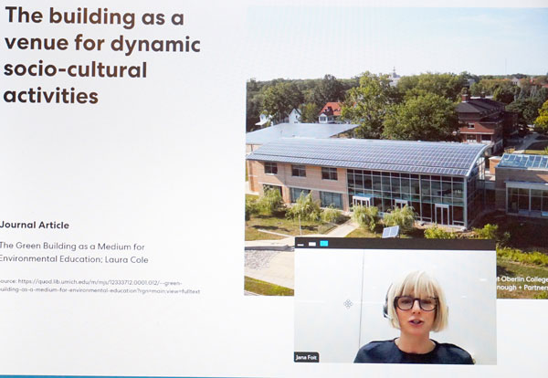 Jana Foit, an architect at the Vancouver office of Perkins&Will, told a webinar audience recently at the Wood Wellness Summit 2021 that one of the reasons mass timber building is taking off is because of the benefits of prefabrication.