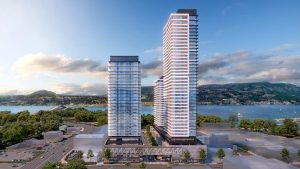 Kelowna approves three-tower project for downtown