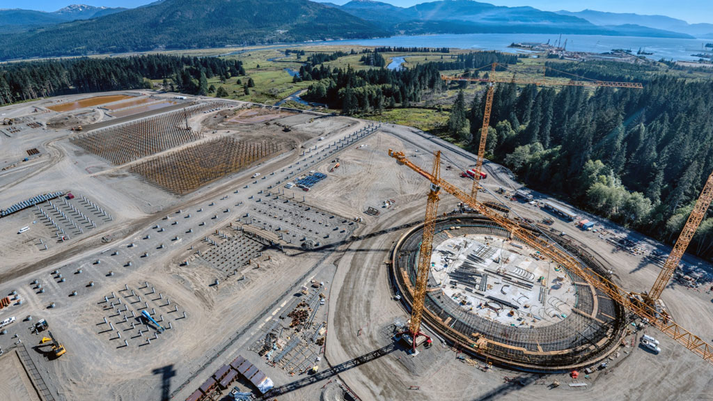 Vaccines on the way for Site C, LNG Canada, Trans Mountain workers