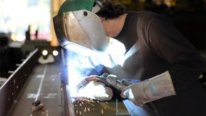 Welding instruction takes to the road to educate students in New Brunswick