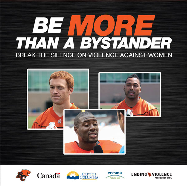 The Be More Than Bystander Program, which was originally developed by the Ending Violence Association of BC and the BC Lions, was adapted to be used in the construction industry. To date, 100 people in the industry have gone through the training.