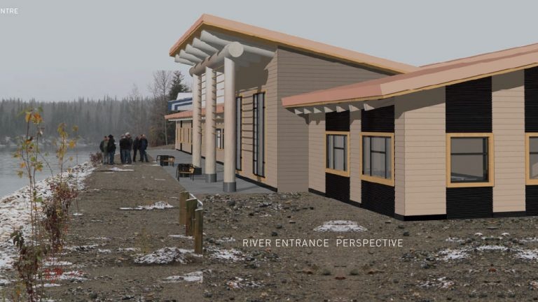 The federal and B.C. governments announced construction of a $13.5-million multi-purpose community centre project to replace a residential school in the remote British Columbia community of Lower Post, which will be demolished.