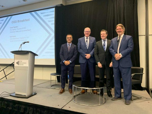 Over the years Mark Casaletto frequently co-hosted the popular CEO Breakfast during Construct Canada, where he took part in panel discussions with notable industry stakeholders and speakers.