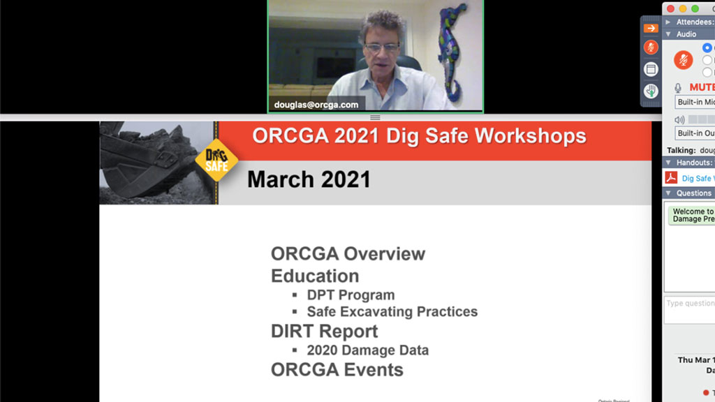 ORCGA launches Safe training program for excavating practices