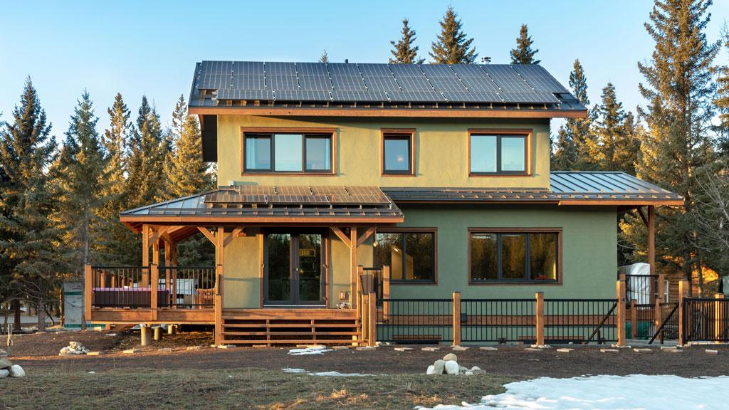 Alberta home seeks Living Building Challenge certification