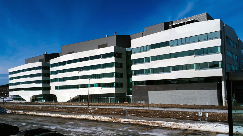COVID sanitary measures on Newfoundland's MUN facility build a critical component