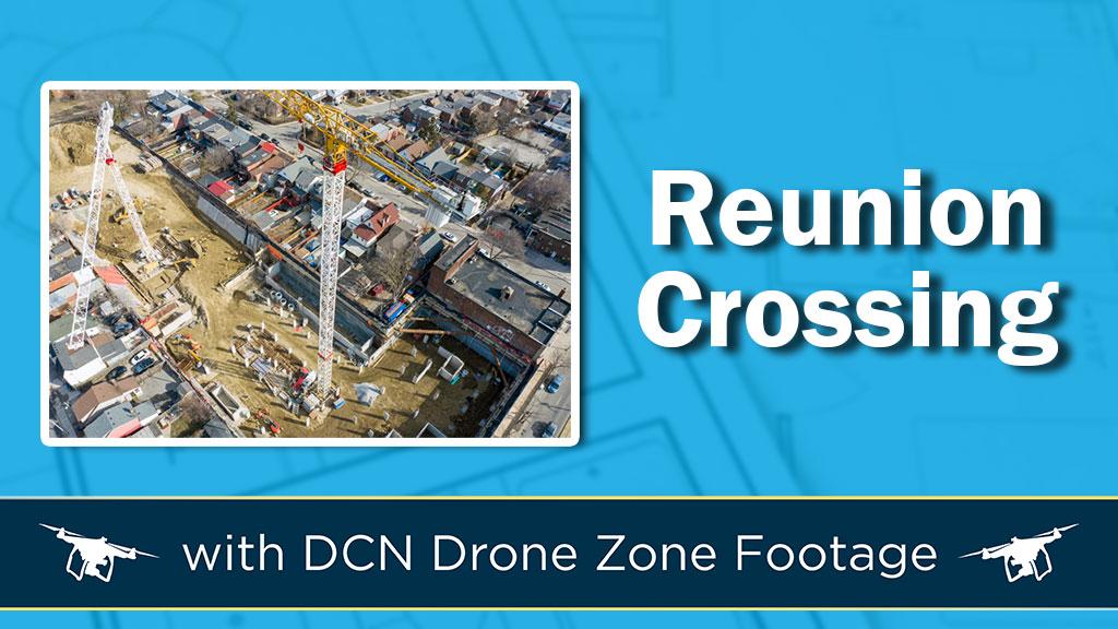 Photo/Video: Reunion Crossing Construction