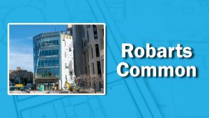 PHOTO: Robarts Common Coming Along