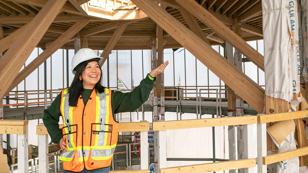 Construction work transforming Coast Mountain College