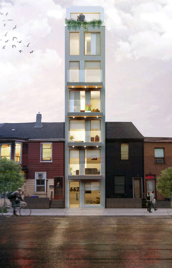 A new prototype of midrise buildings on single, smaller lots that reimagines how this typology can be implemented on our cities' main streets.