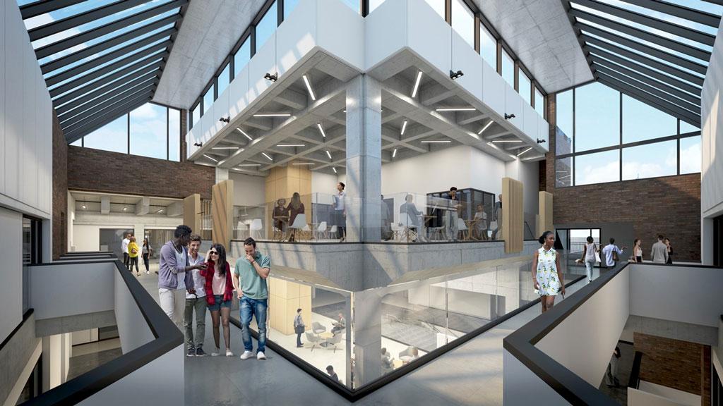 Opening up Windsor's storied Brutalist law school building
