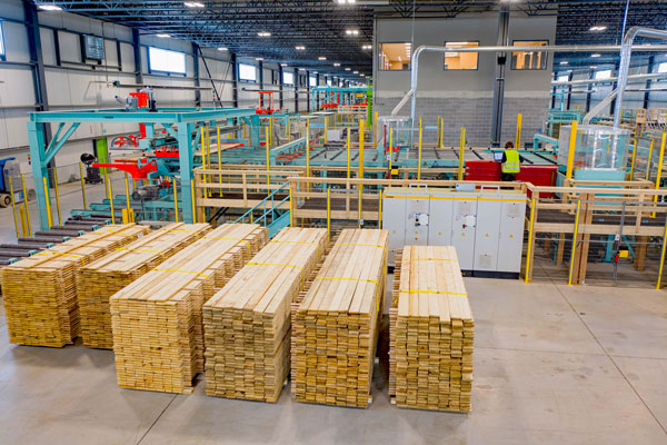 Element5 recently opened Ontario's first and only certified cross-laminated timber manufacturing facility. The plant in St. Thomas, near London, also has the capability of making glued laminated timber, known as glulam.