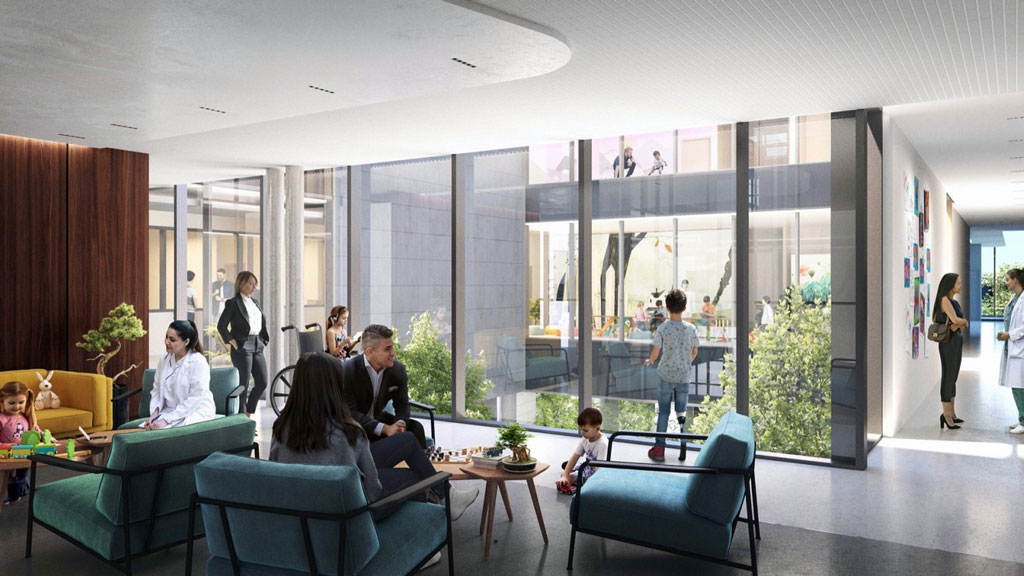 Research institute renovation and expansion designed to encourage greater collaboration