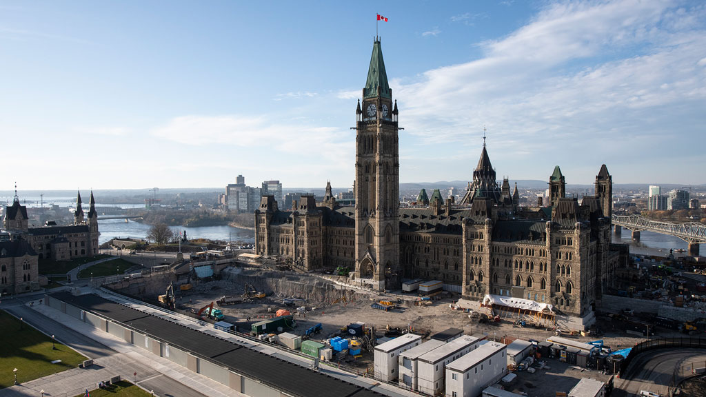 Massive restoration of Parliament's Centre Block to cost up to $5 billion