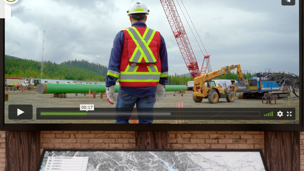 Coastal GasLink provides virtual tour of massive pipeline project