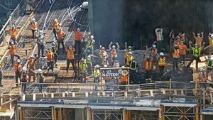 Construction crew gives birthday tribute to SickKids patient