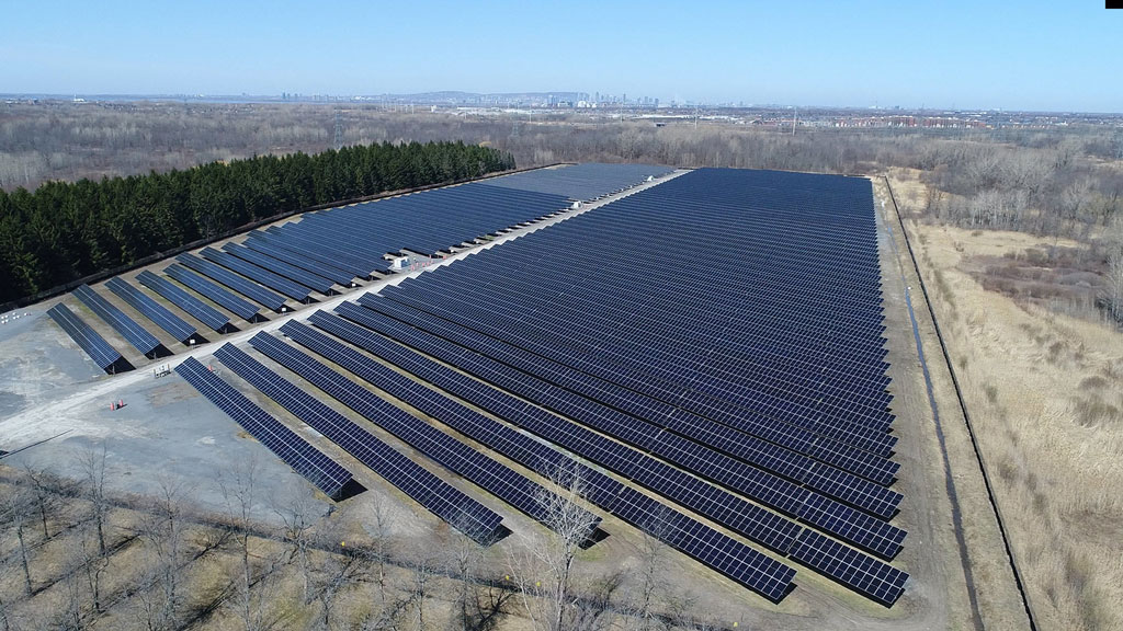 Hydro-Quebec launches first two solar plants