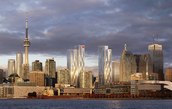 """Alexandra Khazzam, a director at Hines Canada, told a recent webinar on the future of offices that new projects would represent a """"flight to quality"""" with developers focused on boosting amenities and wellness features. Pictured: Hines is a partner in the mixed-use CIBC Square project in downtown Toronto."""