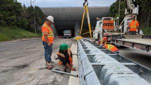 Hercules Crash Cushion debuts at Thorold Tunnel site
