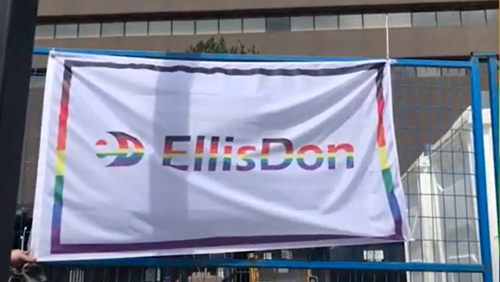 All ALLiED at EllisDon during Pride Month