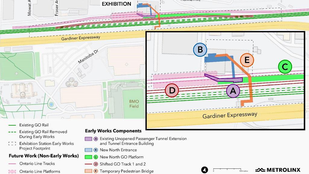 Bidding begins for Exhibition Station project work