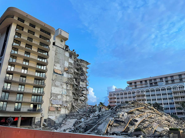 Those missing from what was left of the 12-storey Champlain Towers South included people from around the world: a beloved retired Miami-area teacher and his wife. Orthodox Jews from Russia. Israelis. The sister of Paraguay's first lady. Others from South America.