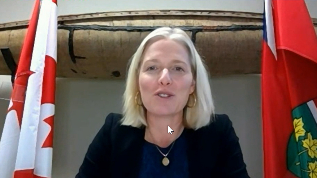 Catherine McKenna retiring from politics, creates possible opening for Mark Carney
