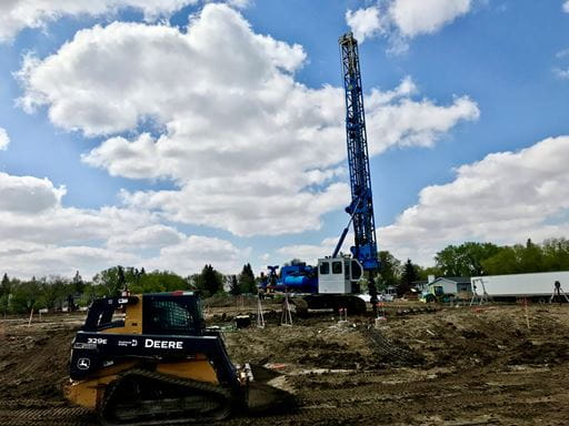 Crews have broken ground on a New Joint-Use École St. Pius X And Argyle Elementary Schools facility in Saskatchewan. Quorex Construction is expected to finish work on the project in 2023.