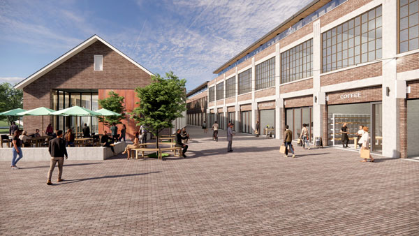 Spotlight Development is also taking on a challenging project in Port Hope, Ont. It is the conversion of an old file factory on the banks of the Ganaraska River into a building with live-work condo lofts, a European-style market and microbrewery.