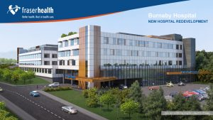 EllisDon selected to build phase one of Burnaby hospital redevelopment