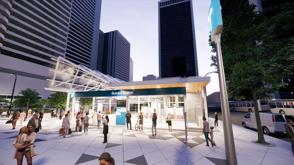 TransLink plans major upgrade for Burrard Station