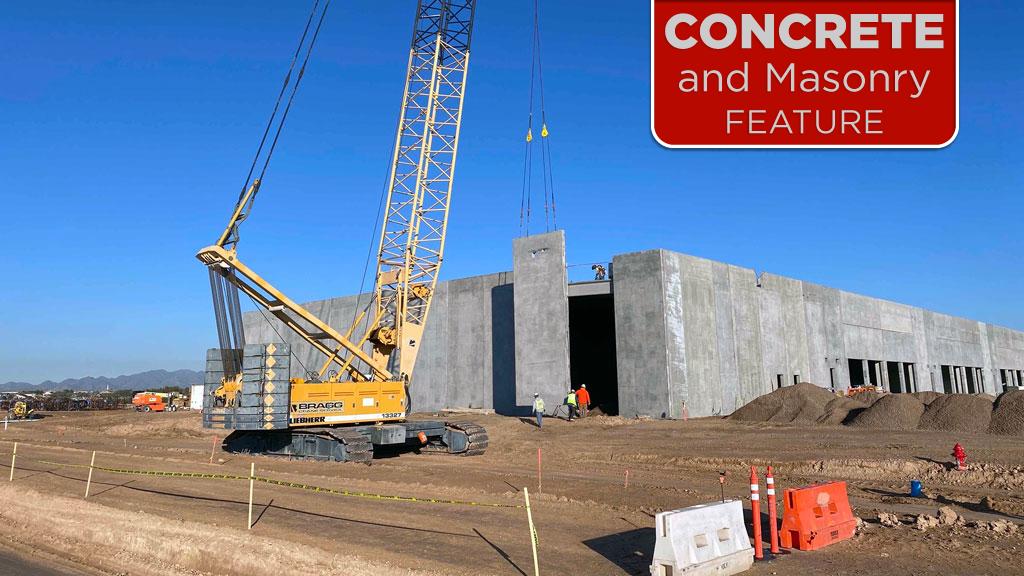 Compass Datacenters built upon eco-friendly concrete