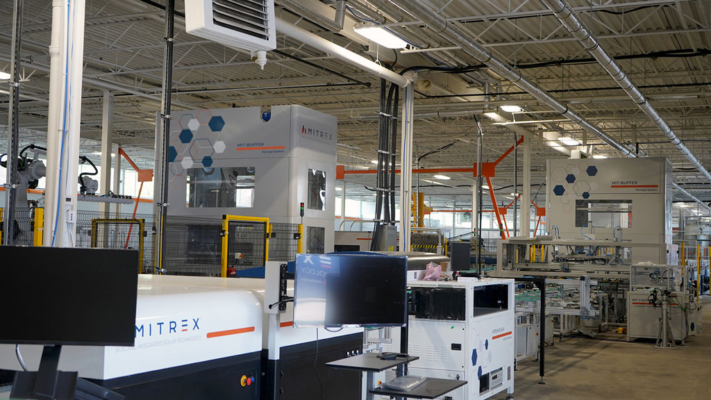 Upgraded Mitrex factory will showcase leading-edge building material tech