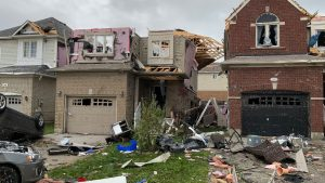 'Miracle' saved three construction workers hit by Barrie tornado