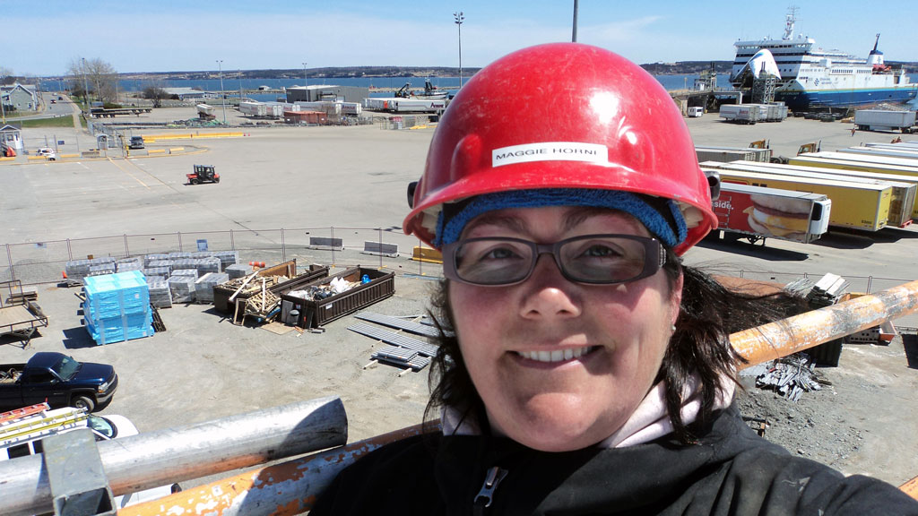 Canada's first Red Seal female ironworker aims to inspire other women