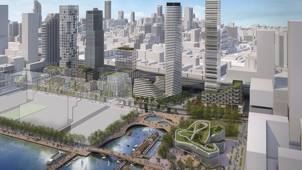 Four teams shortlisted for Quayside Development on Toronto's waterfront