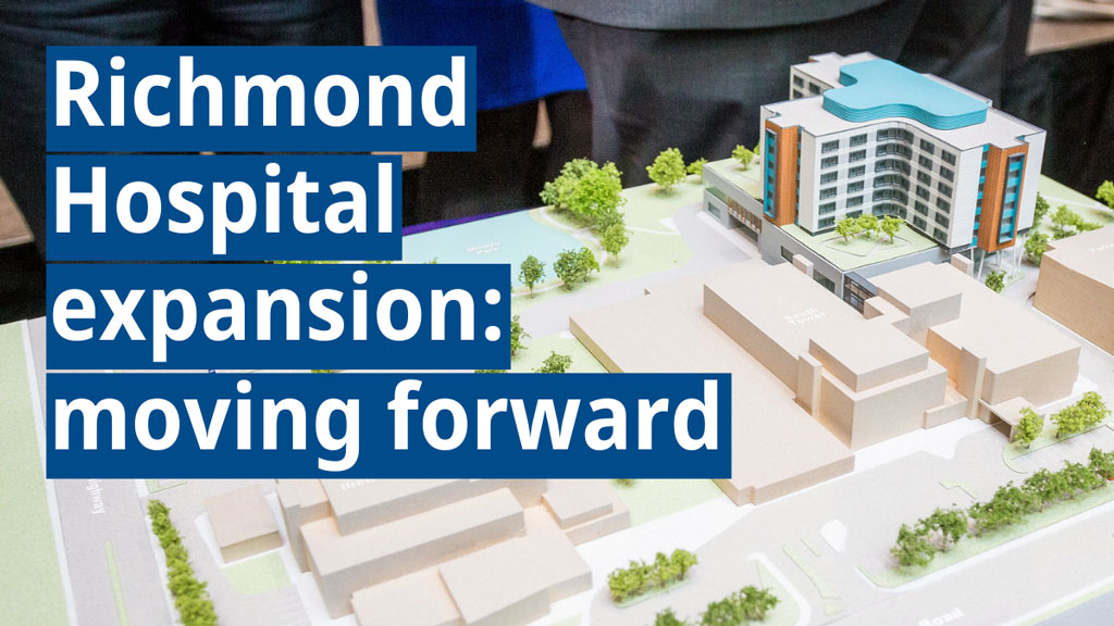 B.C. unveils $860 million plan to expand Richmond hospital