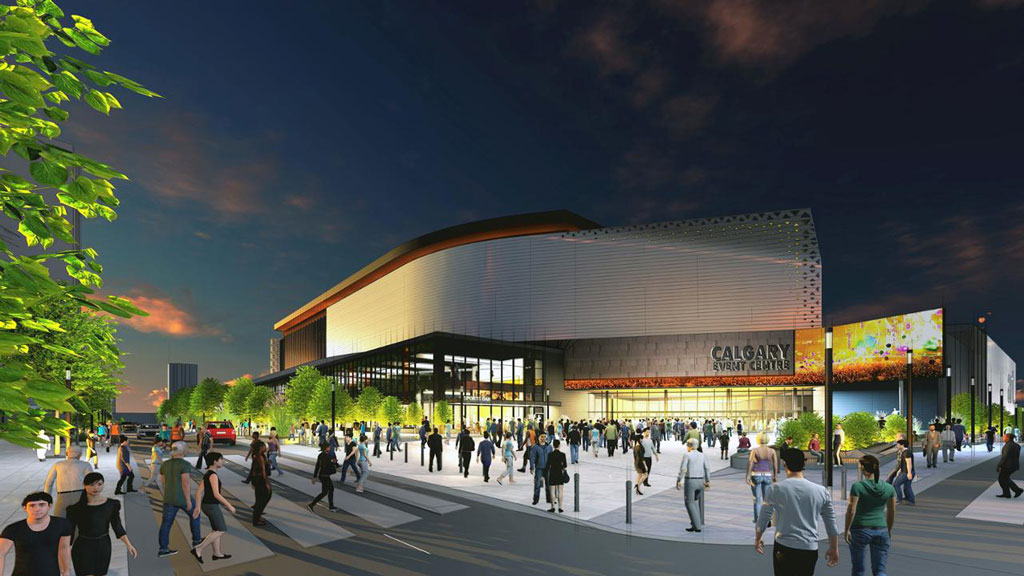 Calgary events centre project reignited with new agreement
