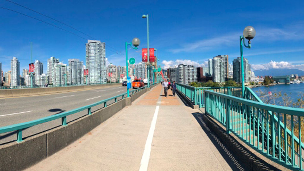 Seismic work begins on Cambie St. Bridge