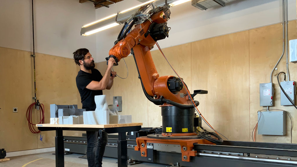 Sudbury research team developing portable robot for automated building fabrication