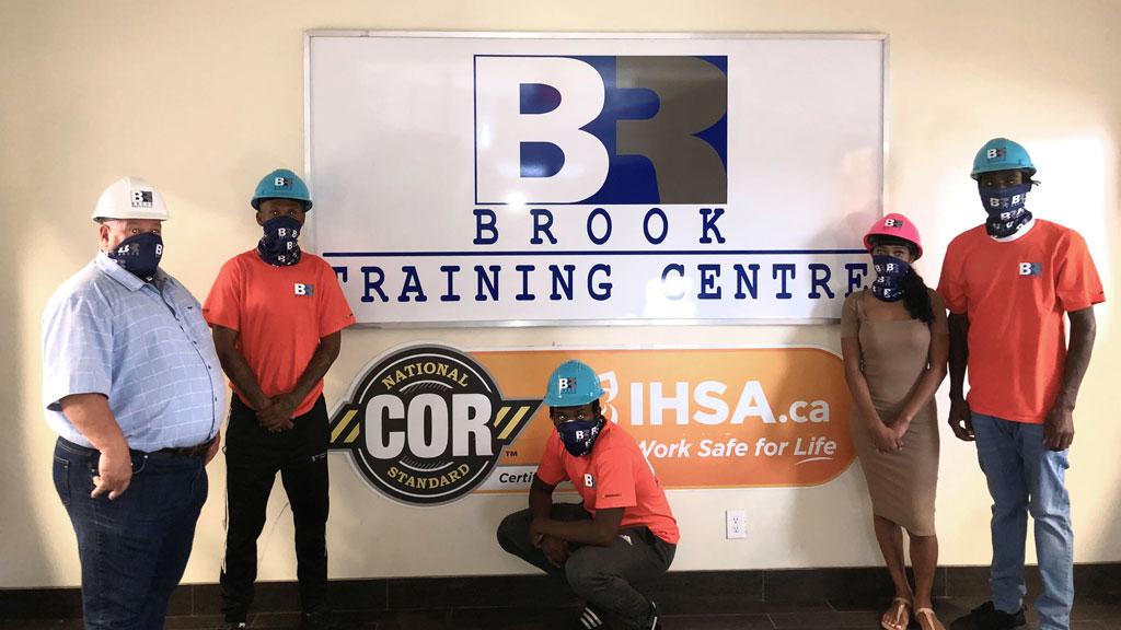 Brook trainees getting breaks needed to succeed