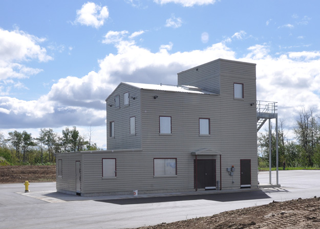 Fort St. John, B.C. officials have opened up two new facilities including a centre to train firefighters.